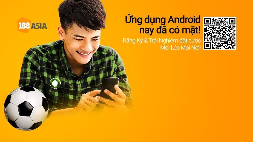 Cá độ bóng đá online với 188Bet mobile Android