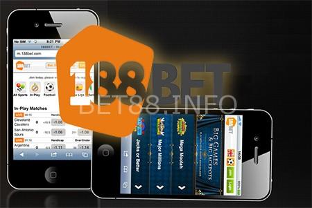 Nhà cái online 188Bet hỗ trợ App dành cho nhiều hệ điều hành