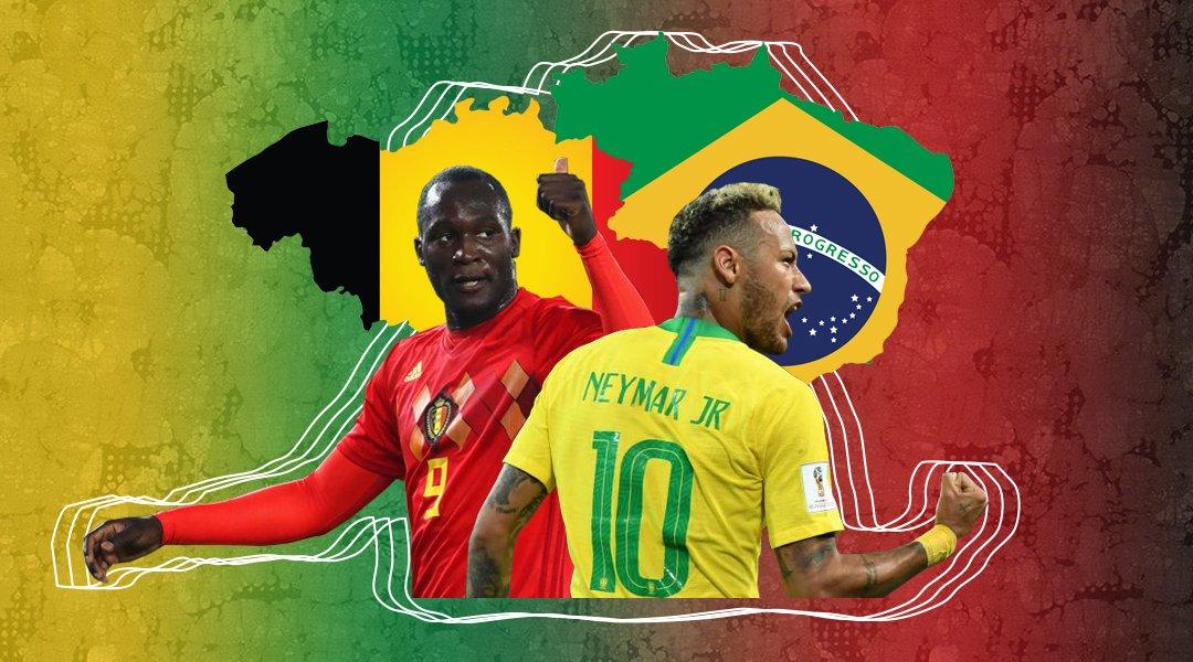 Soi kèo World Cup Brazil vs Bỉ 01h00, ngày 07/7: Kẻ thắng làm vua