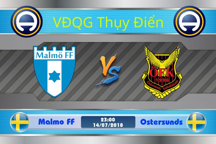 Soi kèo Malmo FF vs Ostersunds 23h00, ngày 14/7: Chủ nhà lấn lướt