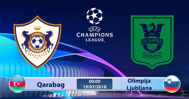Soi kèo Qarabag vs Olimpija Ljubljana 00h00, ngày 19/7: Cơ hội mong manh