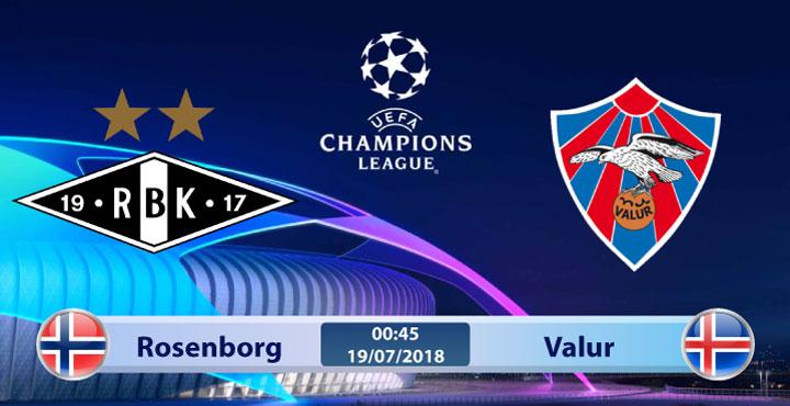 Soi kèo Rosenborg vs Valur 00h45, ngày 19/7: Đảo ngược tình thế