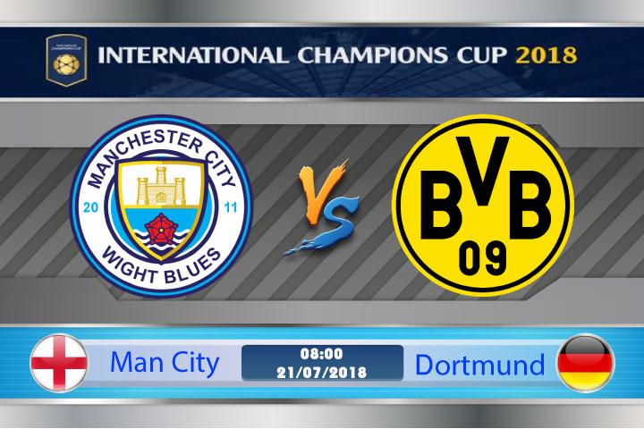 Soi kèo Man City vs Dortmund 08h00, ngày 21/7: Bất phân thắng bại