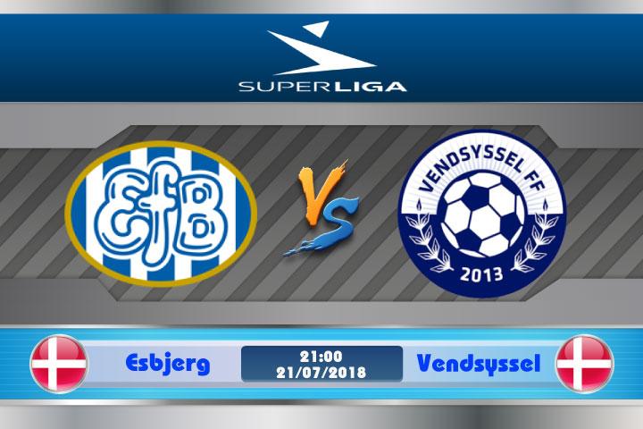 Soi kèo Esbjerg vs Vendsyssel 21h00, ngày 21/7: Tân binh hội ngộ