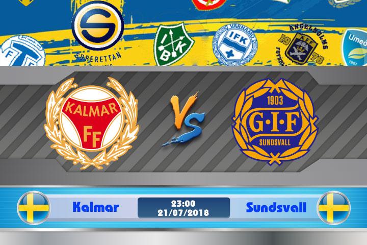 Soi kèo Kalmar vs Sundsvall 23h00, ngày 21/7: Cơ hội chiến thắng