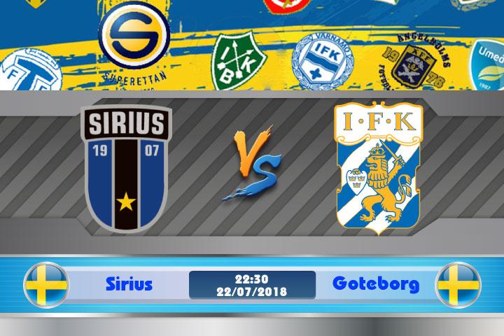 Soi kèo Sirius vs Goteborg 22h30, ngày 22/7: Thoát khỏi kiếp nạn