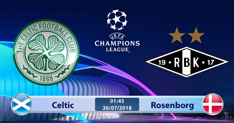 Soi kèo Celtic vs Rosenborg 01h45, ngày 26/7: Thị uy vòng loại