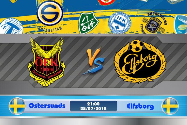 Soi kèo Ostersunds vs Elfsborg 21h00, ngày 28/7: Dấu hiệu sa sút