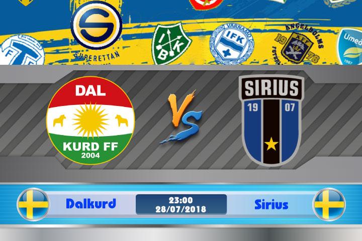 Soi kèo Dalkurd vs Sirius 23h00, ngày 28/7: Giao hoán vị trí