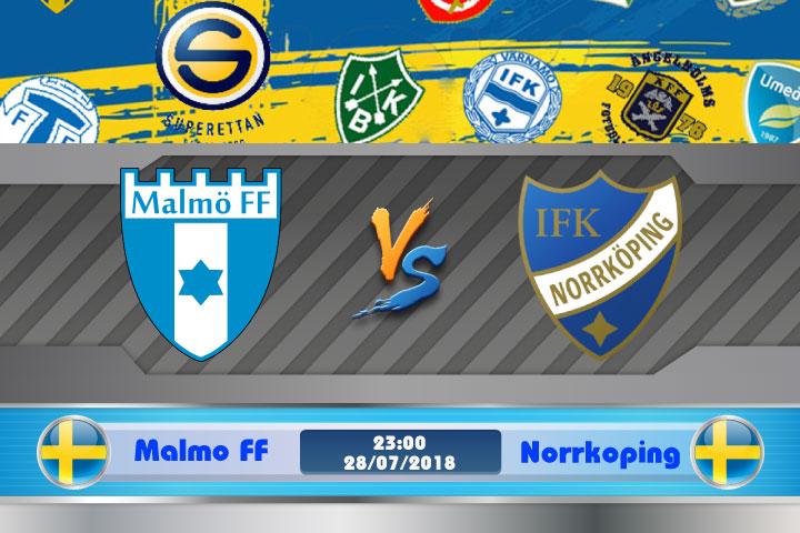 Soi kèo Malmo FF vs Norrkoping 23h00, ngày 28/7: Ghé thăm hiểm địa
