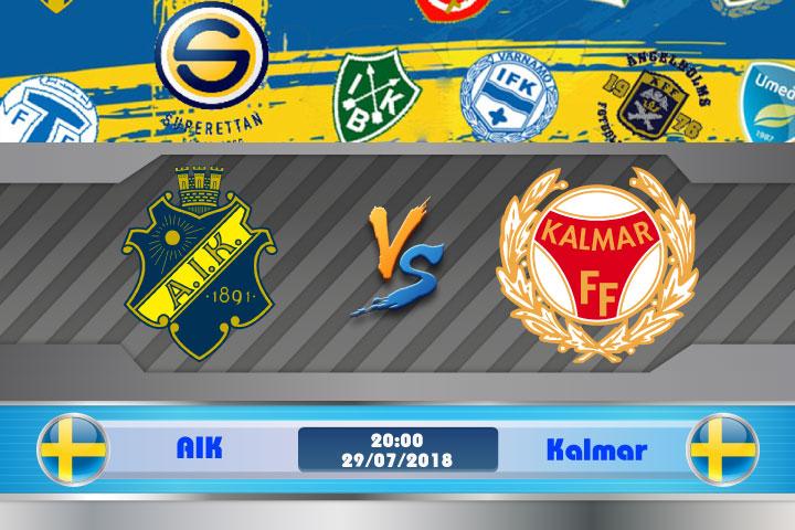 Soi kèo AIK vs Kalmar 20h00, ngày 29/7: Khó khăn chồng chất