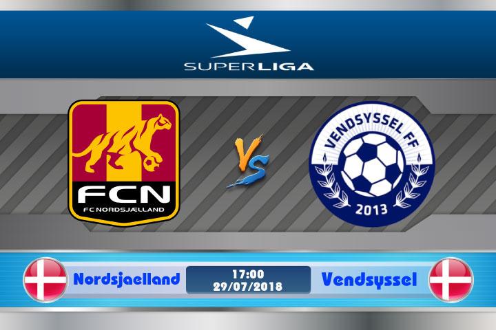 Soi kèo Nordsjaelland vs Vendsyssel 17h00, ngày 29/7: Thử thách tân binh