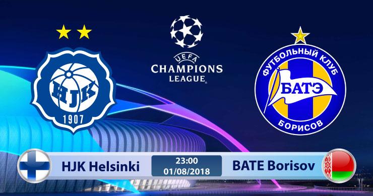 Soi kèo HJK Helsinki vs BATE Borisov 23h00, ngày 01/8: Lợi thế sân nhà