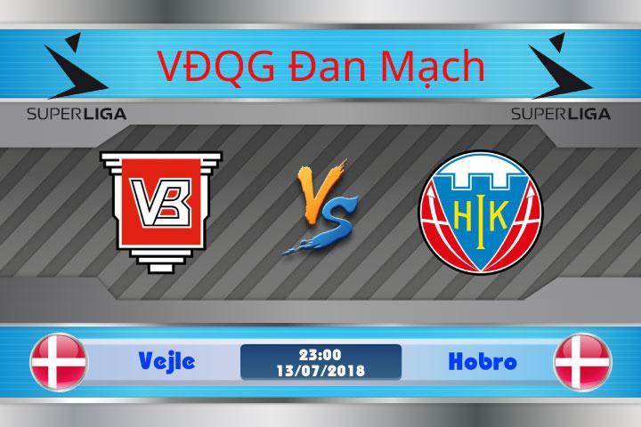 Soi kèo Vejle vs Hobro 23h00, ngày 13/7: Tân binh chào sân