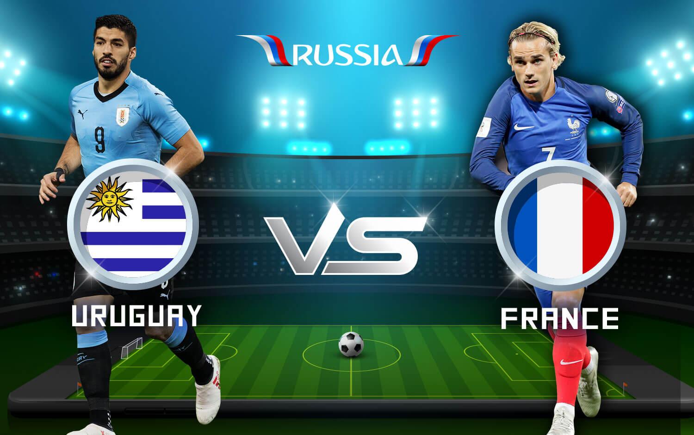 Soi kèo World Cup Uruguay vs Pháp 21h00, ngày 06/7: Quá khứ hào hùng