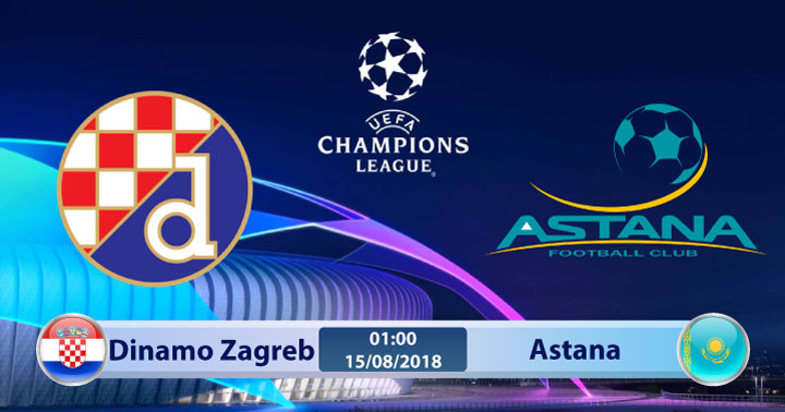 Soi kèo Dinamo Zagreb vs Astana 01h00, ngày 15/8: Nhiệm vụ bất khả thi