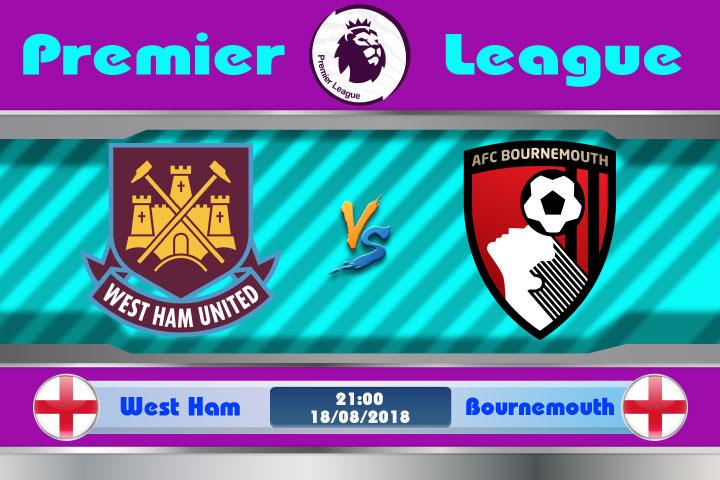 Soi kèo West Ham vs Bournemouth 21h00, ngày 18/8: Vượt qua khó khăn