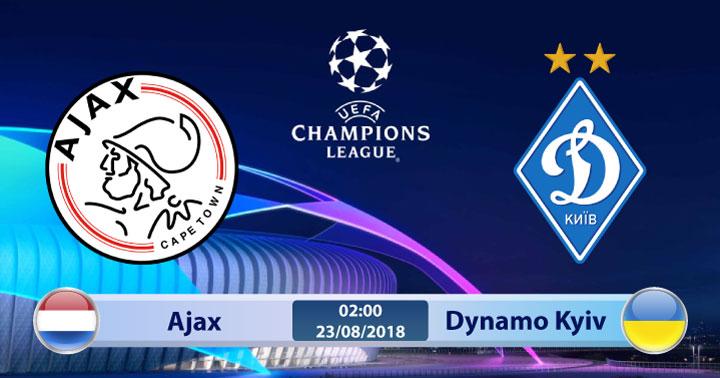 Soi kèo Ajax vs Dynamo Kyiv 02h00, ngày 23/8: Oan gia ngõ hẹp