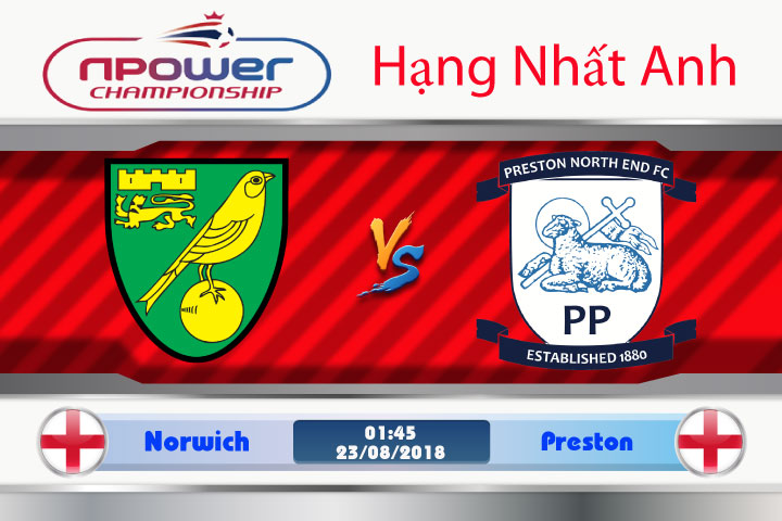 Soi kèo Norwich vs Preston 01h45, ngày 23/8: Cần có chiến thắng