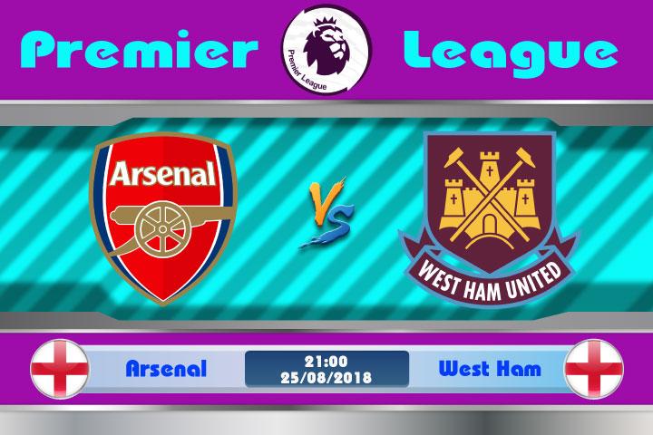 Soi kèo Arsenal vs West Ham 21h00, ngày 25/8: Pháo thủ oanh tạc