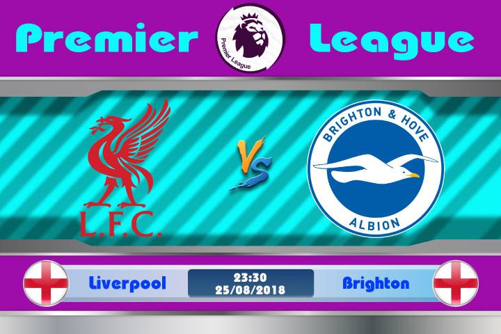 Soi kèo Liverpool vs Brighton 23h30, ngày 25/8: Tương lại mịt mờ