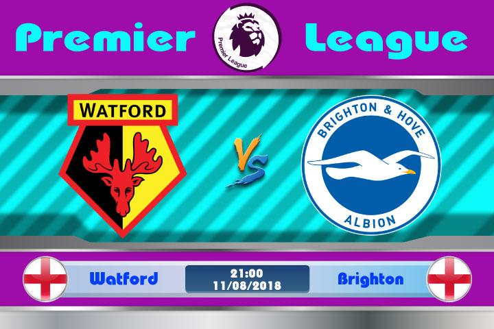 Soi kèo Watford vs Brighton 21h00, ngày 11/8: Liều thuốc vừa phải