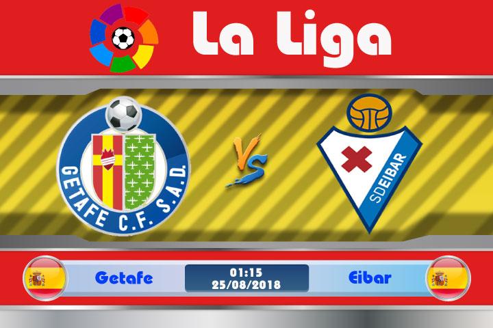Soi kèo Getafe vs Eibar 01h15, ngày 25/8: Không khoan nhượng