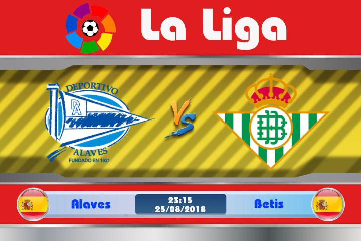 Soi kèo Alaves vs Betis 23h15, ngày 25/8: Không ngại đất khách