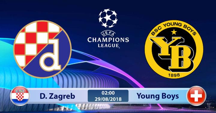 Soi kèo Dinamo Zagreb vs Young Boys 02h00, ngày 29/8: Cân bằng