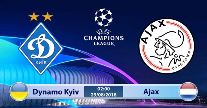 Soi kèo Dynamo Kyiv vs Ajax 02h00, ngày 29/8: Cơ hội mong manh