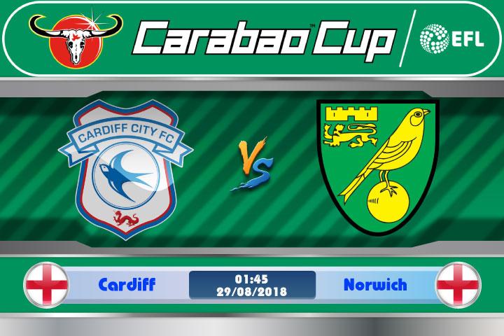 Soi kèo Cardiff vs Norwich 01h45, ngày 29/8: Lợi thế sân nhà