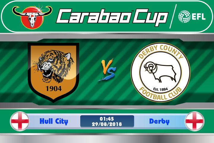 Soi kèo Hull City vs Derby 01h45, ngày 29/8: Lịch sử có tái diễn