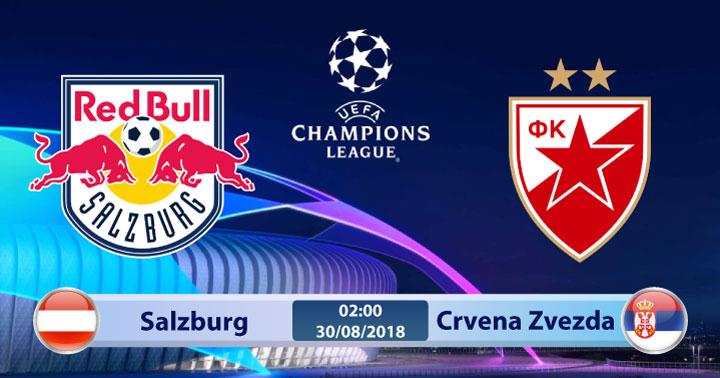 Soi kèo Salzburg vs Crvena Zvezda 02h00, ngày 30/8: Trận đấu kịch tính