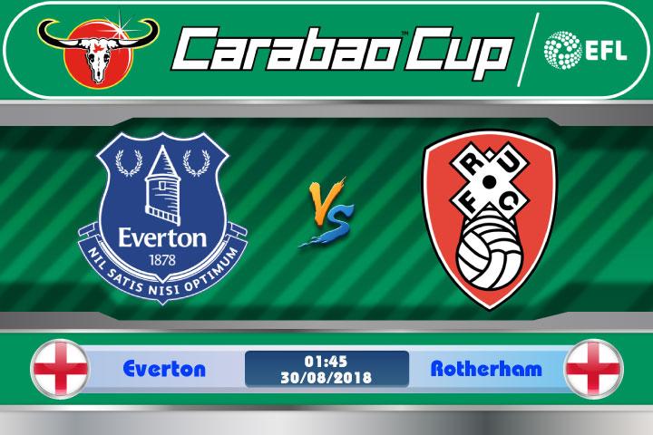Soi kèo Everton vs Rotherham 01h45, ngày 30/8: Lần đầu đối mặt