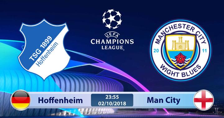 Soi kèo Hoffenheim vs Man City 23h55, ngày 02/10: Lần đầu diện kiến