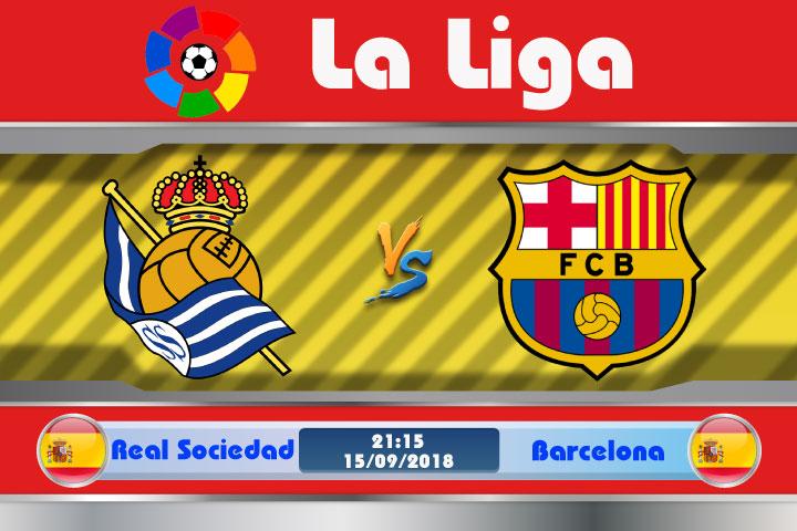 Soi kèo Real Sociedad vs Barcelona 21h15, ngày 15/9: Tiếp tục thị uy