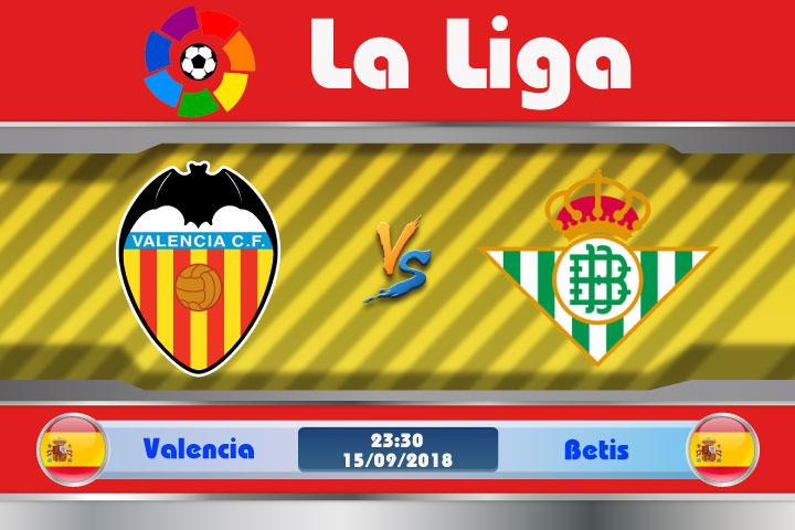Soi kèo Valencia vs Betis 23h30, ngày 15/9: Hiểm họa tiềm tàng