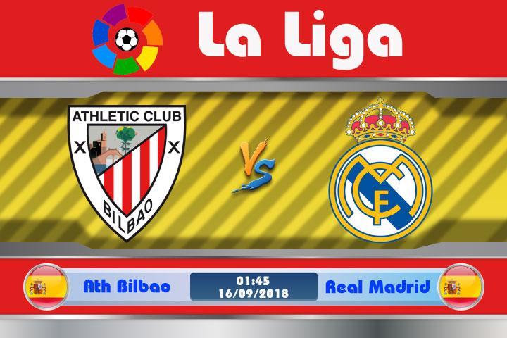 Soi kèo Ath Bilbao vs Real Madrid 01h45, ngày 16/9: Kền Kền Tung Cách