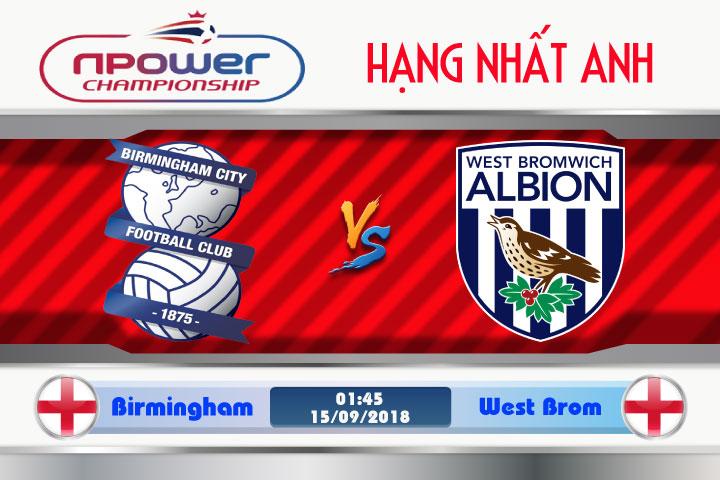 Soi kèo Birmingham vs West Brom 01h45, ngày 15/9: Chủ nhà gặp nạn
