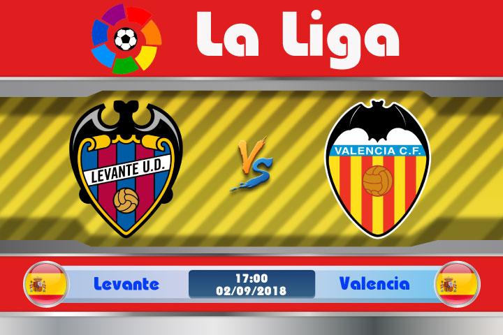 Soi kèo Levante vs Valencia 17h00, ngày 02/9: Derby thành Valencia