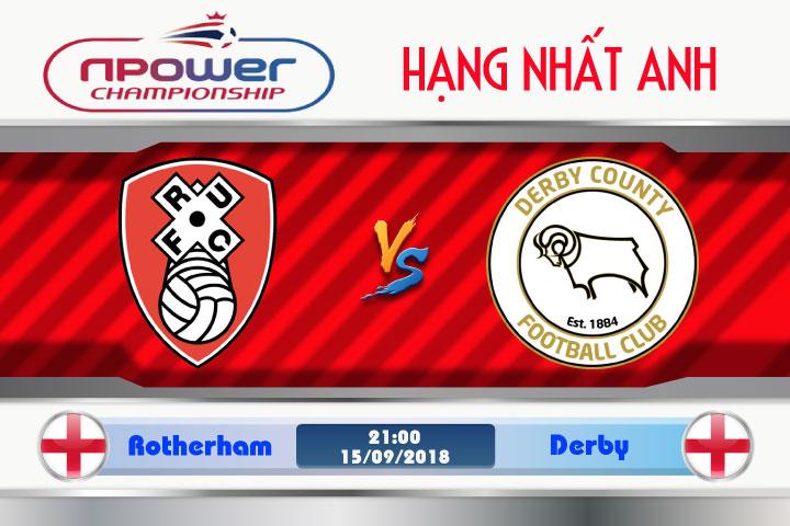 Soi kèo Rotherham vs Derby 21h00, ngày 15/9: Giữ vững thành tích