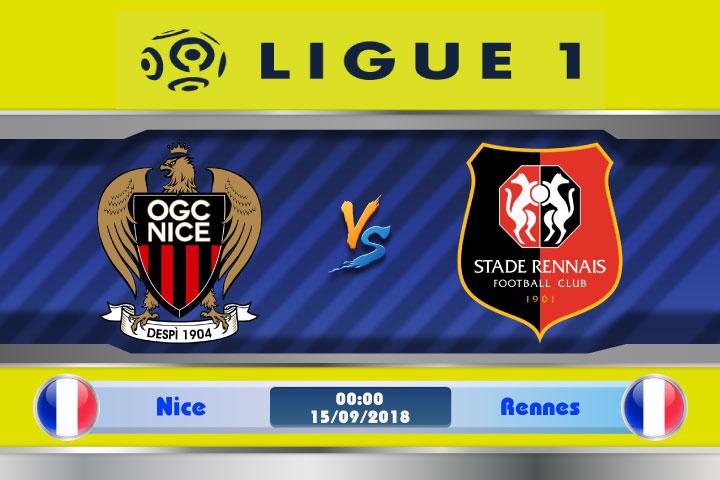 Soi kèo Nice vs Rennes 00h00, ngày 15/9: Bất lợi nơi đất khách