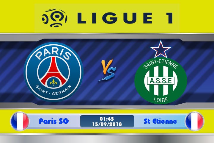 Soi kèo Paris SG vs St Etienne 01h45, ngày 15/9: Nối dài thành tích