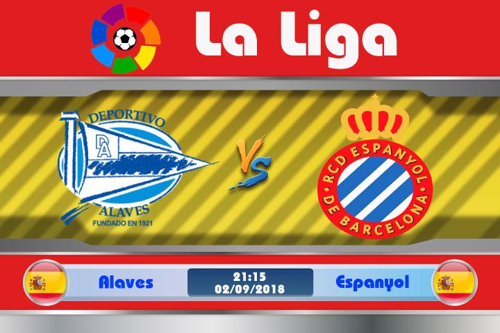 Soi kèo Alaves vs Espanyol 21h15, ngày 02/9: Đội khách lấn lướt
