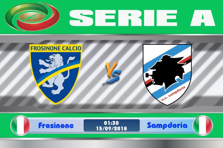 Soi kèo Frosinone vs Sampdoria 01h30, ngày 16/9: Thừa thắng xông lên