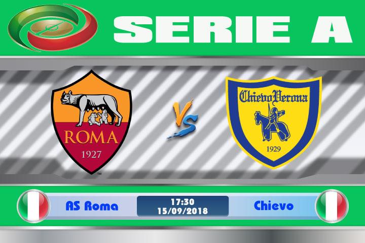 Soi kèo AS Roma vs Chievo 17h30, ngày 16/9: Khôi phục tinh thần