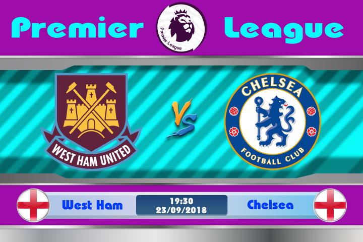 Soi kèo West Ham vs Chelsea 19h30, ngày 23/9: Cuộc vui qua nhanh
