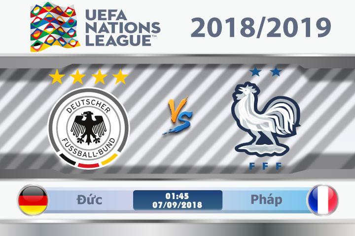 Soi kèo Đức vs Pháp 01h45, ngày 07/9: Cựu vương đối đầu tân vương