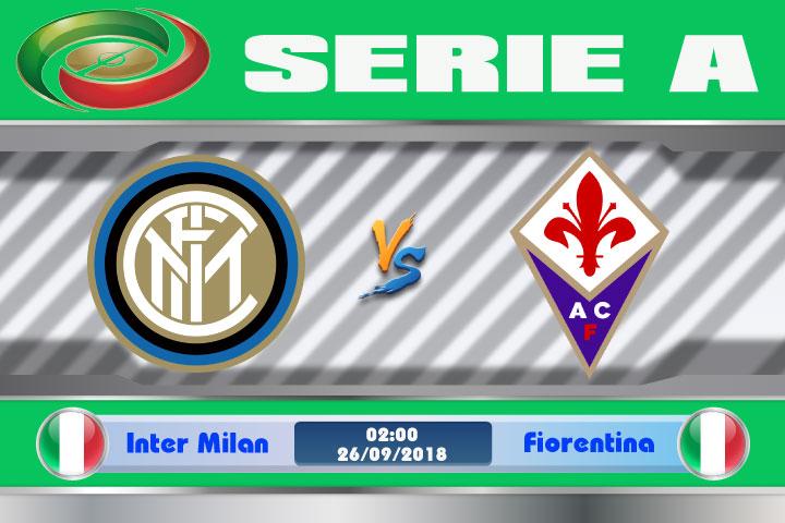 Soi kèo Inter Milan vs Fiorentina 02h00, ngày 26/9: Tử huyệt xa nhà