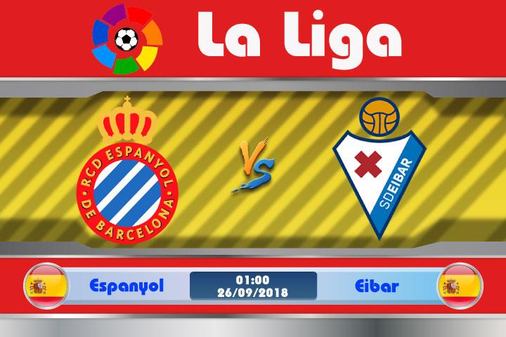 Soi kèo Espanyol vs Eibar 01h00, ngày 26/9: Đội khách bất ổn